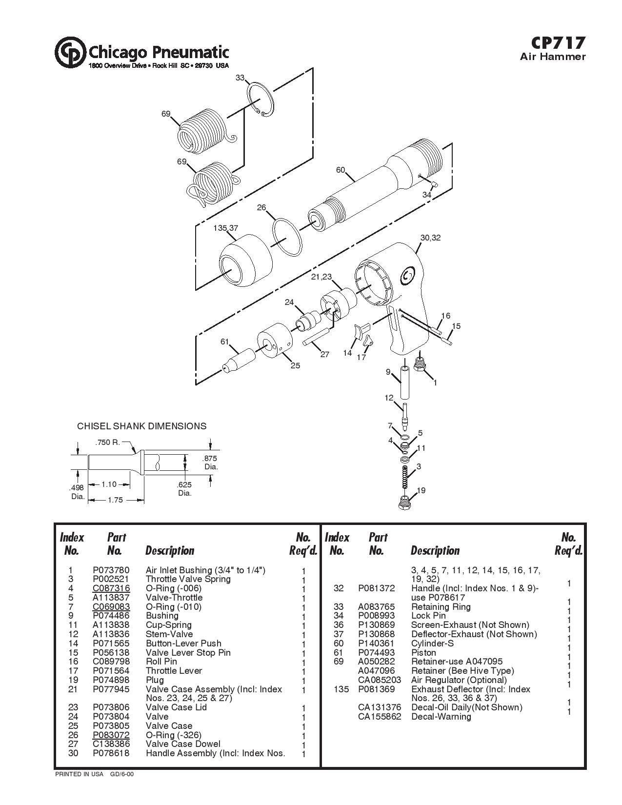 ingersoll rand 2141 parts diagram